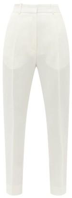 Petar Petrov Hamlet High-rise Crepe Trousers - Womens - Ivory