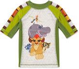 Disney Boys Lion Guard Solid Rash Guard-Big Kid
