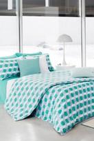 Lacoste Kamo Comforter Set - Marine Green