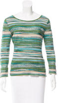 M Missoni Printed Long Sleeve Top