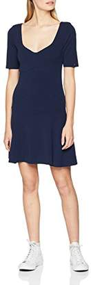 Tommy Jeans Women's Fitflar Short Sleeve Dress,X-Large