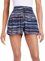 Splendid Striped Drawstring Shorts
