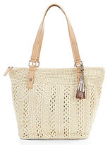 The Sak Silverwood Crochet Large Tote