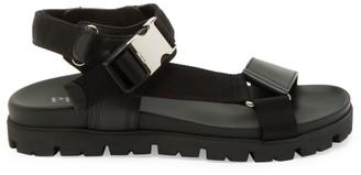 Prada Montana Ankle Strap Sandals