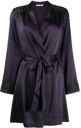 Gilda & Pearl Madame X silk robe