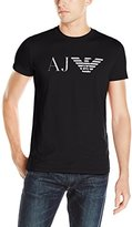 Armani Jeans Men's Aj Eagle Logo T-Shirt
