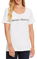 "Heritage Maison Blanche"" Logo Tee"