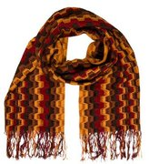 Missoni Fringe Patterned Scarf