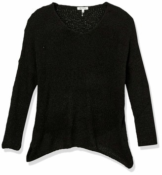 Forever 21 Women's Plus Size V-Neck Knit Sweater