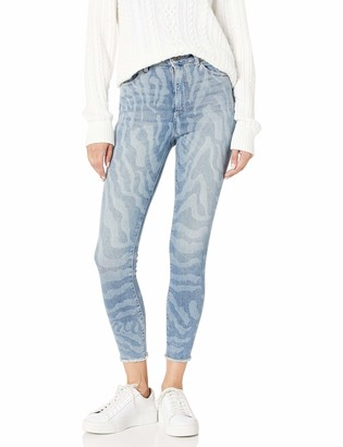 DL1961 Women's Farrow Cropped-High Rise Skinny Jeans