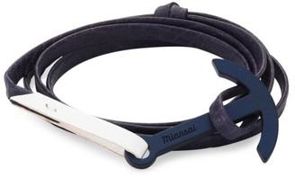 Miansai Two-Tone Wrap Bracelet