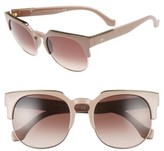 Balenciaga Women's Paris 54Mm Sunglasses - Antique Rose/ Gradient Brown