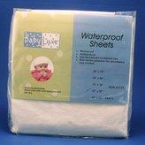 L.A. Baby Babyluxe Waterproof Crib Sheet - 28 x 52