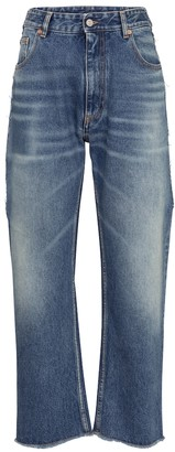 MM6 MAISON MARGIELA Low-rise straight cropped jeans