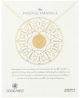 Dogeared Mindful Mandala Center Square Necklace