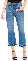 Free People Released Hem Cropped Bootcut Jeans