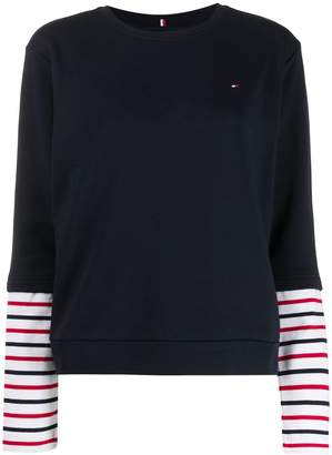 Tommy Hilfiger layered effect T-shirt