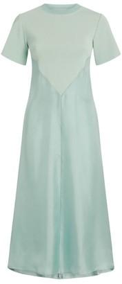 Sportmax Elettra Contrast Midi Dress