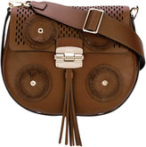 Furla Club tassel saddle bag - women - Calf Leather - One Size