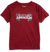 Under Armour Toddler Boy's Big Logo Hybrid Twist T-Shirt