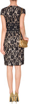 Moschino Cheap & Chic Crochet Lace Dress with Bow Sashes