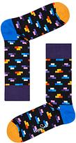 Happy Socks Brick Socks, One Size, Navy