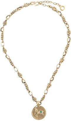 Goossens Fish Medallion Necklace