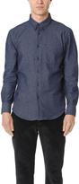 Naked & Famous Denim 5.5 Oz Denim Long Sleeve Shirt
