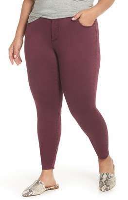 KUT from the Kloth Donna High Waist Ankle Skinny Pants (Plus Size)