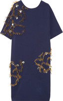 By Malene Birger Nuttah embellished stretch-crepe dress