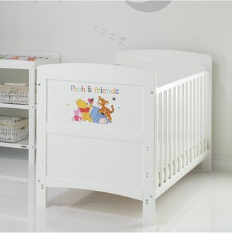 Winnie The Pooh Cot Bed & Friends