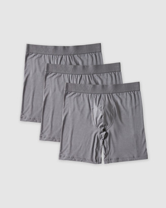Boody Organic Bamboo Eco Wear 3 Pack Everyday Long Boxers