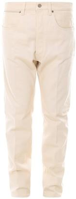Golden Goose Stitch Detail Straight-Leg Jeans