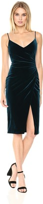 Black Halo Women's Bowery Velvet Sheath Dress