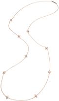 Eddie Borgo Women's Pave Nine Cone Station Necklace