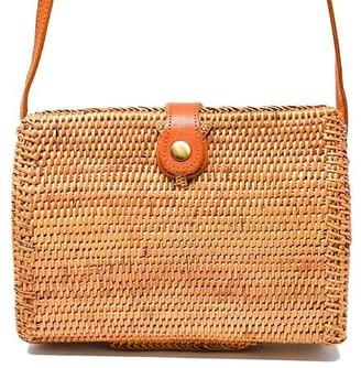 Poppy + Sage Bridget Rattan Bag
