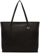 Rick Owens Black Big Shopper Tote