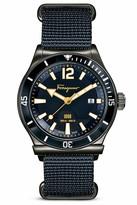 Salvatore Ferragamo 1898 Sport Marine Stainless Steel Watch, 43mm