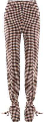 J.W.Anderson Tie Hem Slim Fit Trousers
