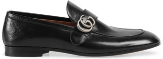 Gucci Leather loafer with DoubleG