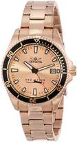 Invicta Women's 15137SYB Pro Diver 18K Gold-Plated Stainless Steel Watch