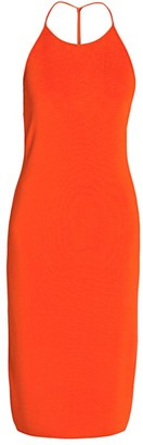 Bottega Veneta Sleeveless Halterneck Dress