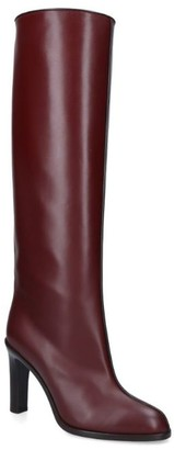 The Row Leather Wide Shaft Boots