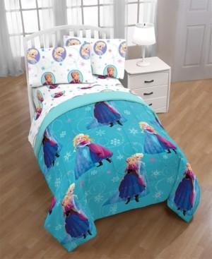 Disney Frozen Swirl Full Comforter Bedding