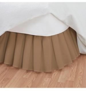 Fresh Ideas Magic Skirt Ruffled Twin Bed Skirt Bedding