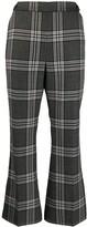 Marni Plaid Print Trousers