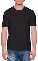 Dolce & Gabbana Basic Short-Sleeve Crewneck Tee, Black