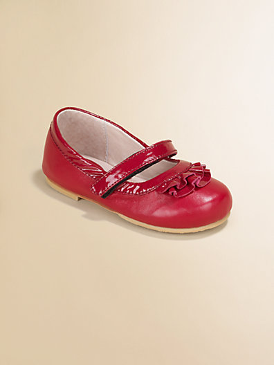 Bloch Toddler's & Little Girl's Ra Ra Leather Mary Jane Flats