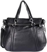Hanson Karla Irene Leather Large Satchel Bag