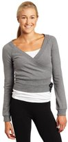 Danskin Women's NYCB Wrap Sweater